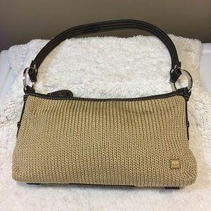 The Sak small crochet nylon small shoulder bag.